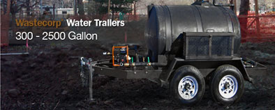 Potable Water Trailers For Horse Arena Watering Dust